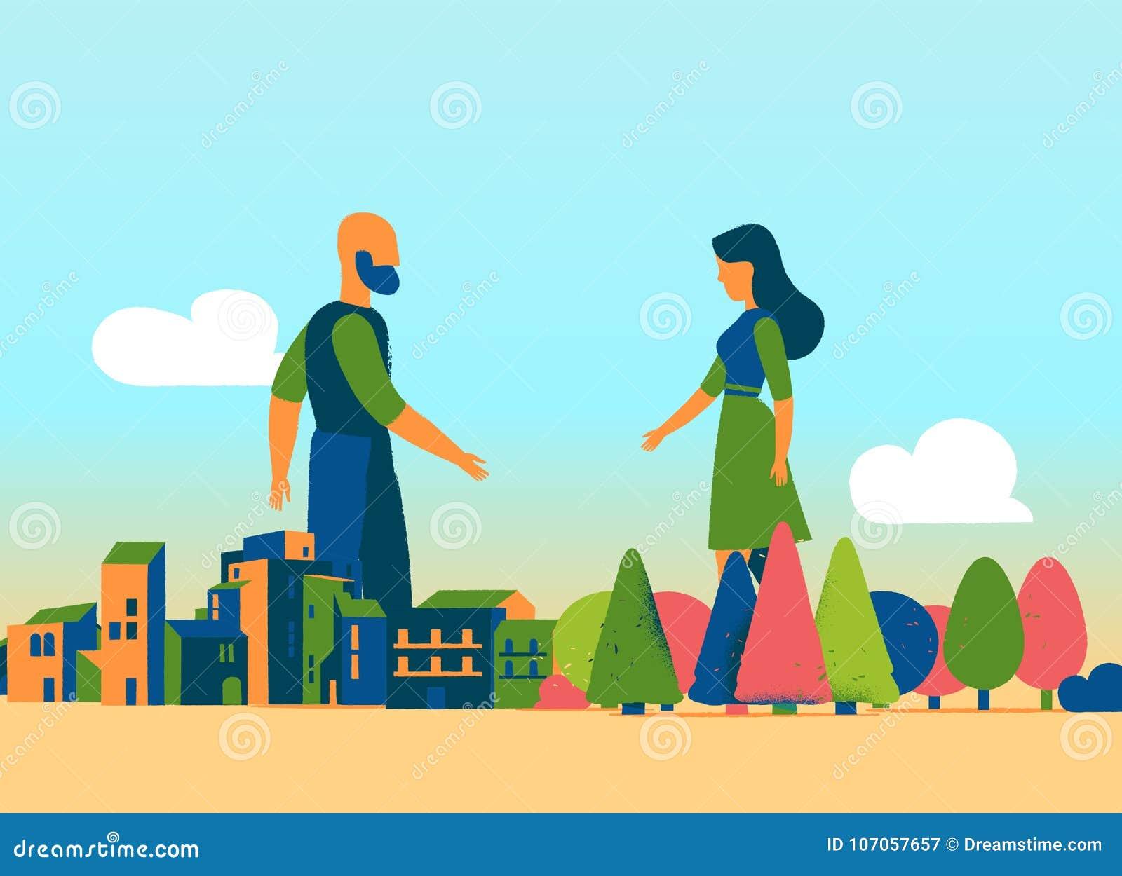 Matka natura spotyka miastowego społeczeństwa