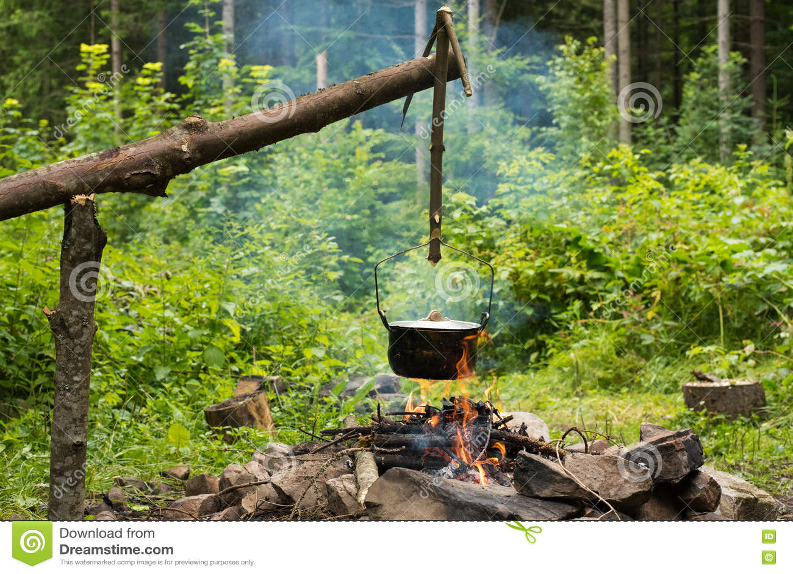 Matlagning i kittel
