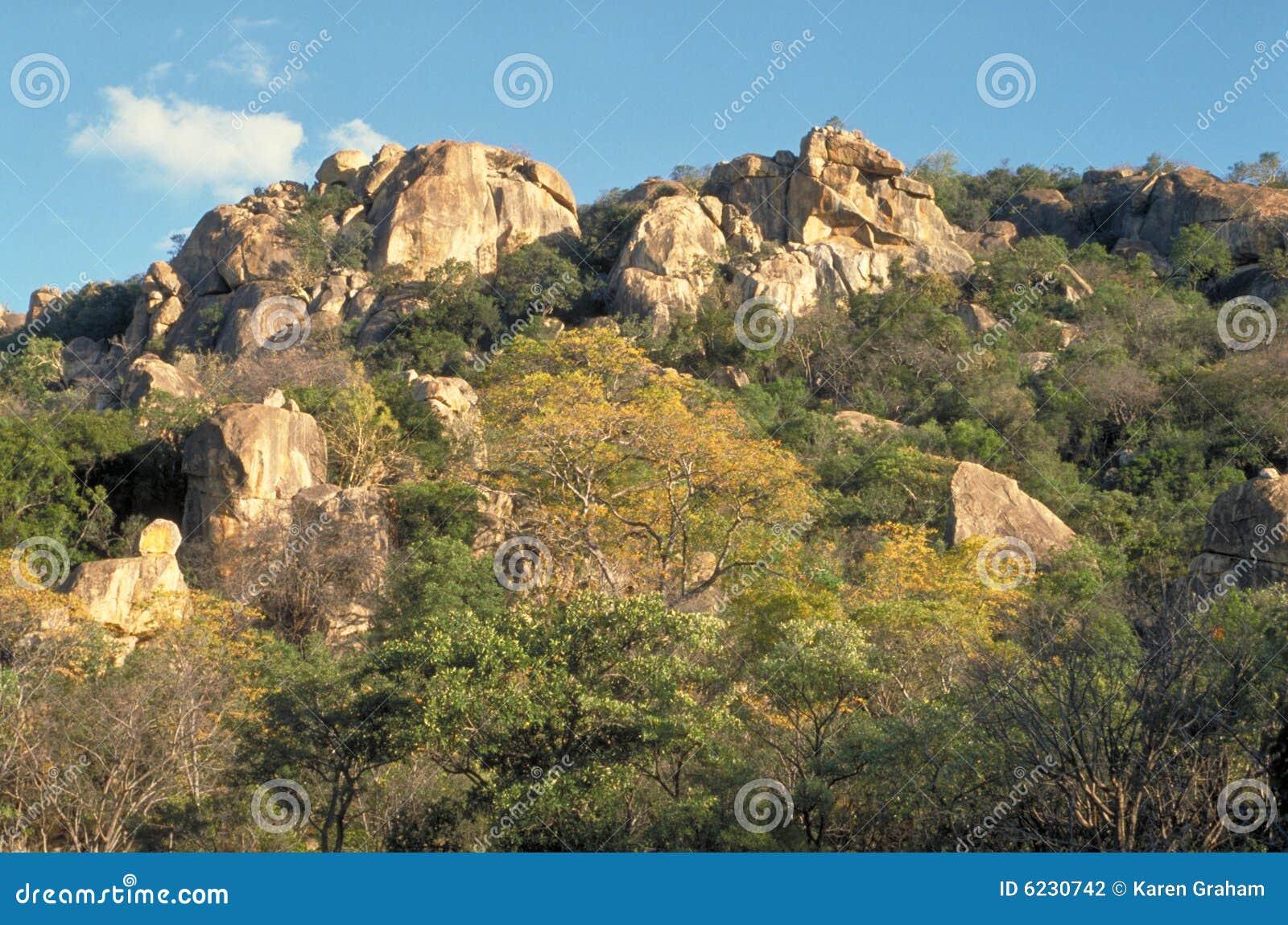 Matopos Hills Stock Photo Image Of Kopjes Granite