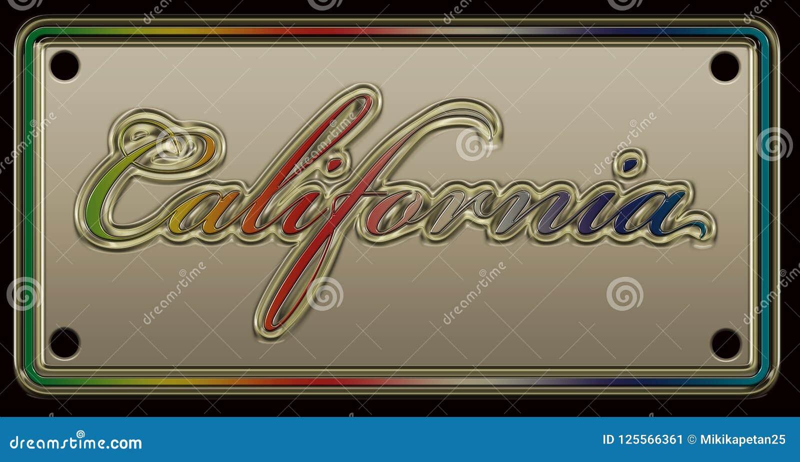 Matrícula de Califórnia