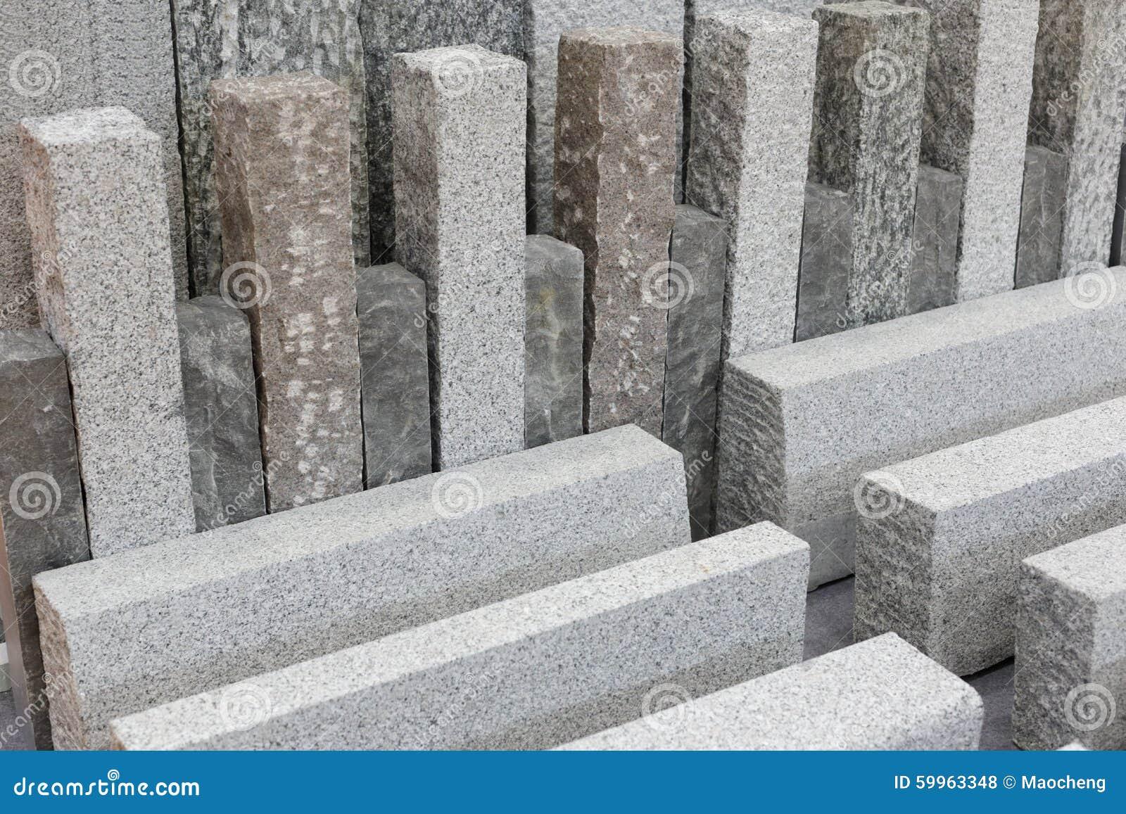 Mat riaux de construction gris de pierre de granit photo for Marmol material de construccion