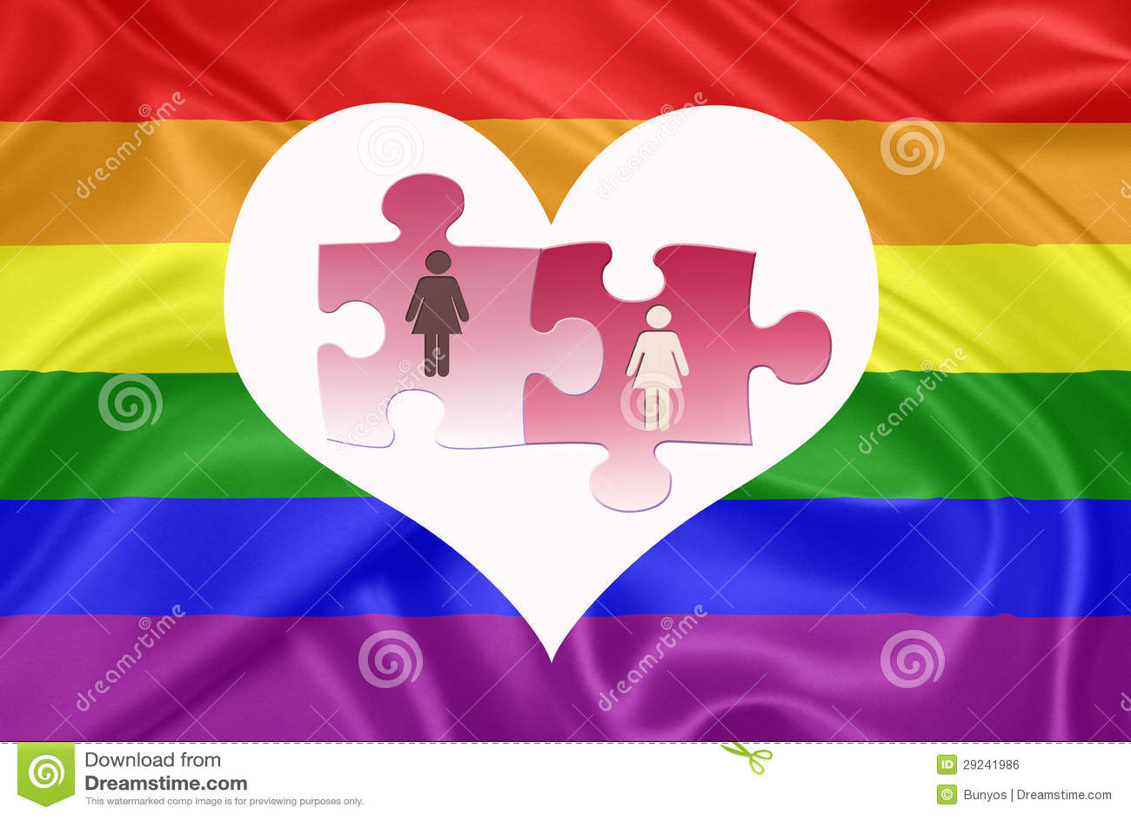 Download Matrimónios homossexuais ilustração stock. Ilustração de gerado - 29241986