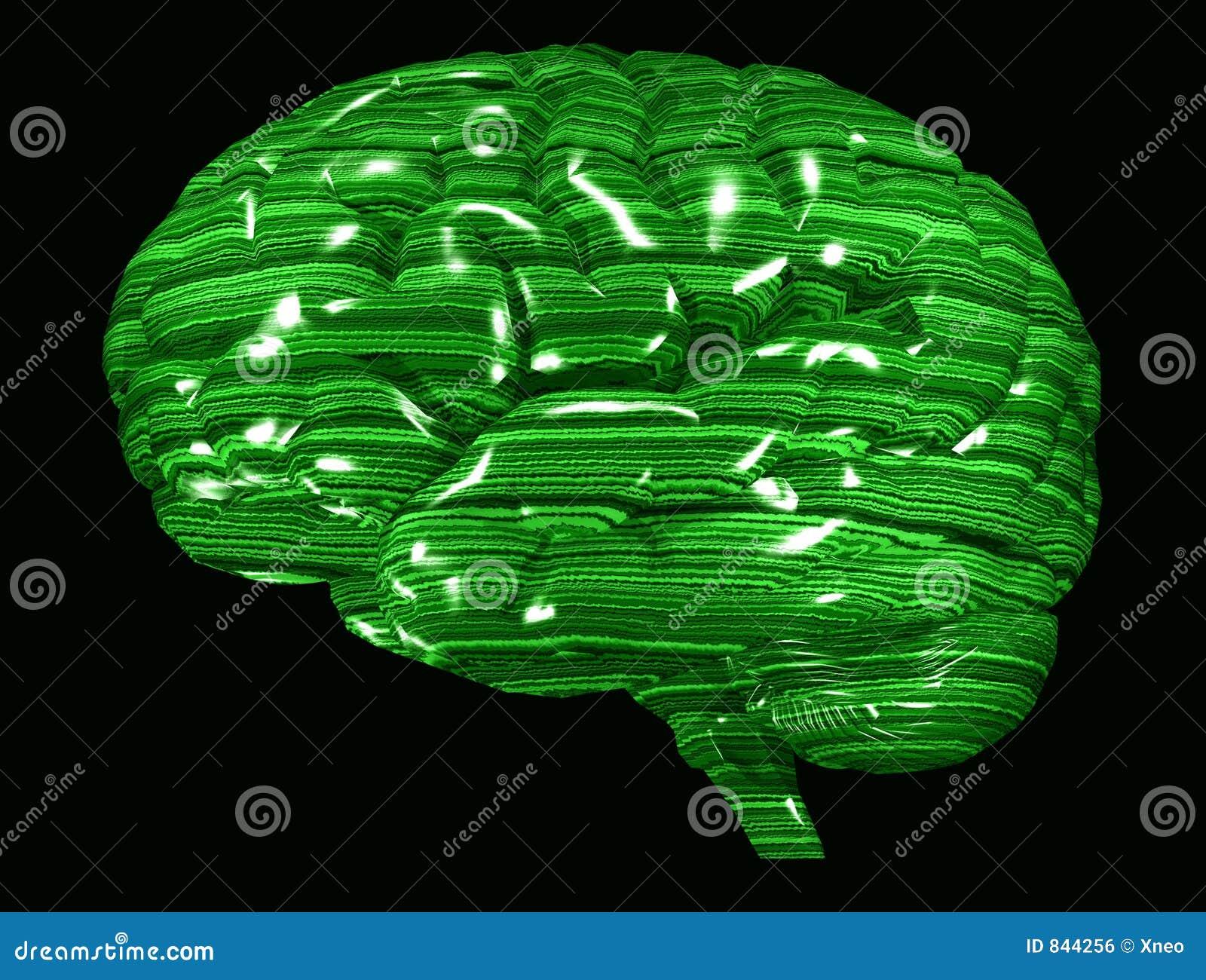 Matrix Green Brain