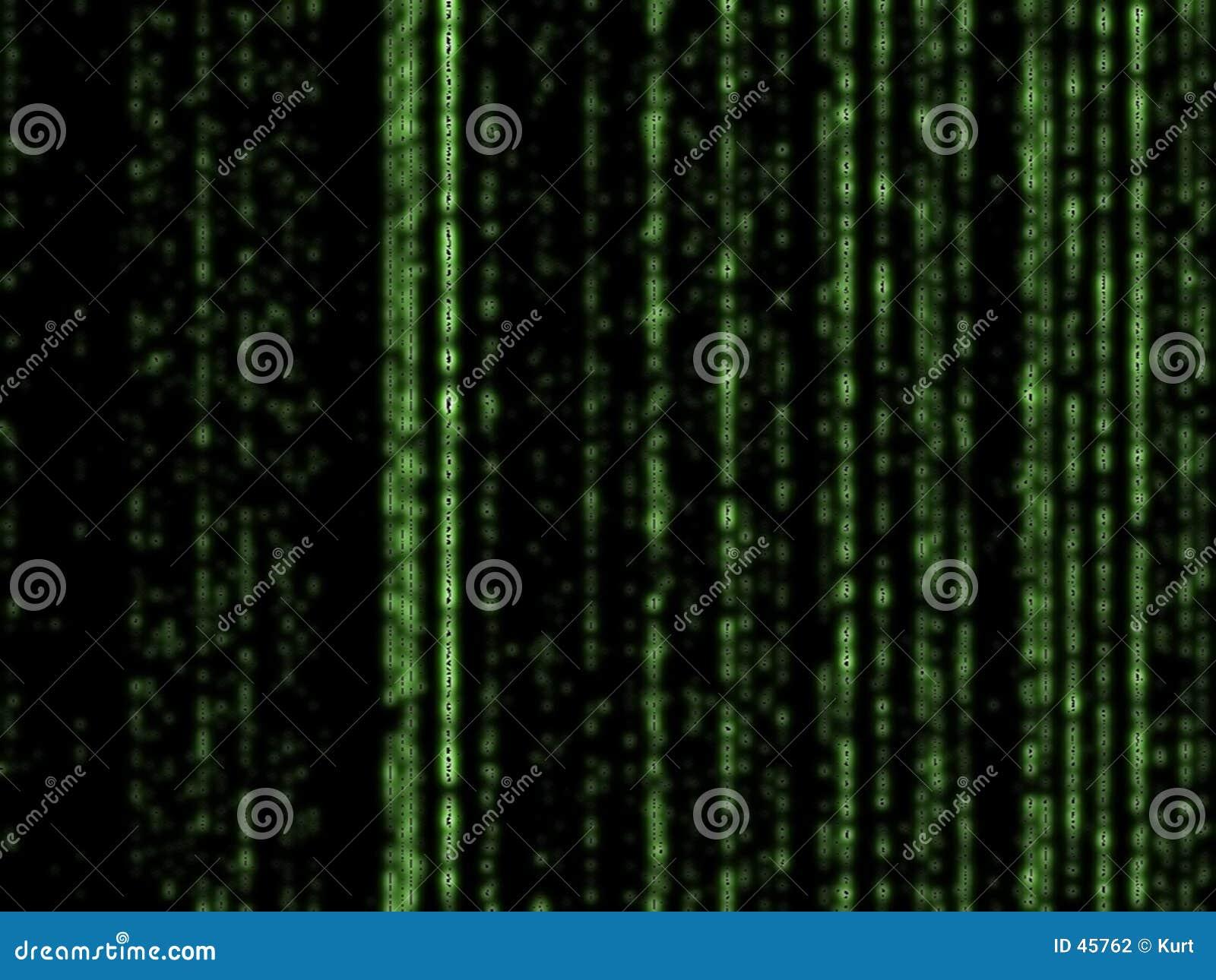 Matrix tło