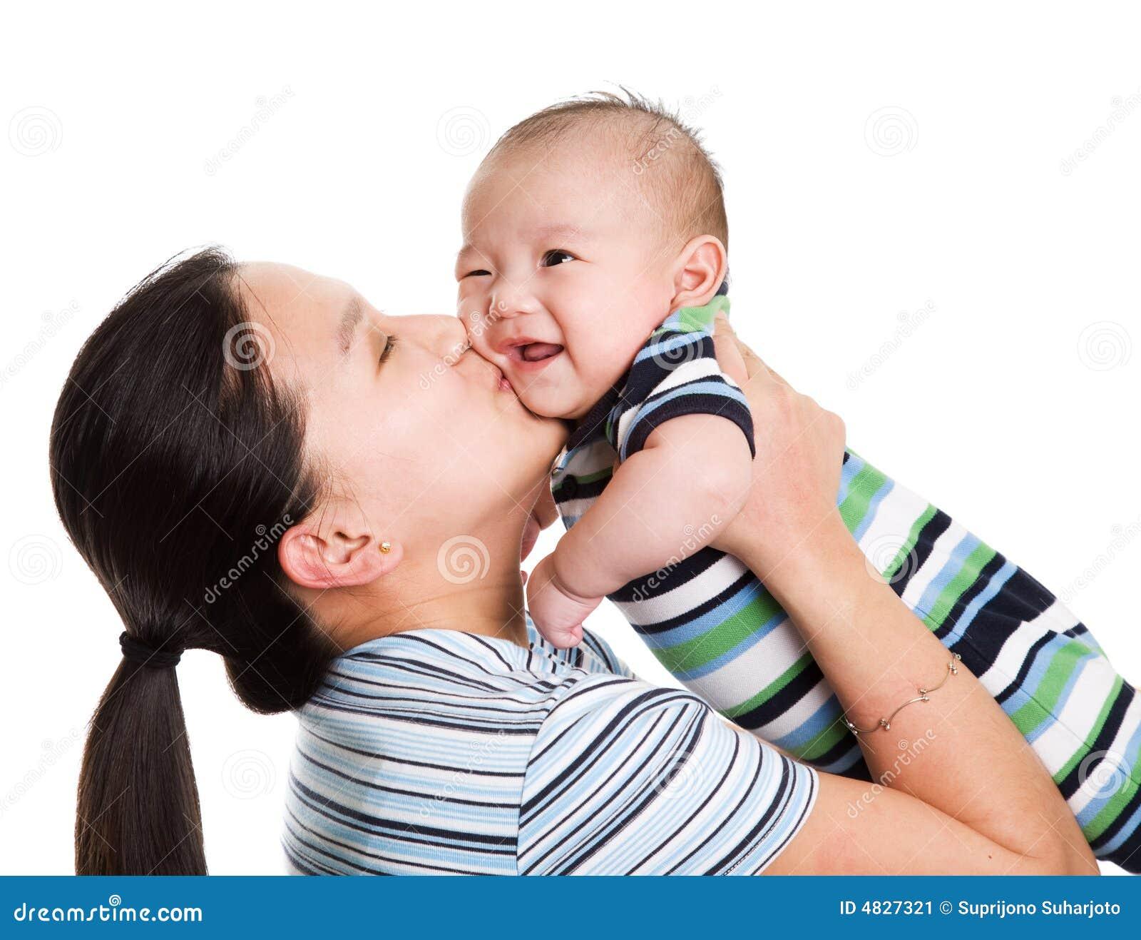 Matriz e filho asiáticos