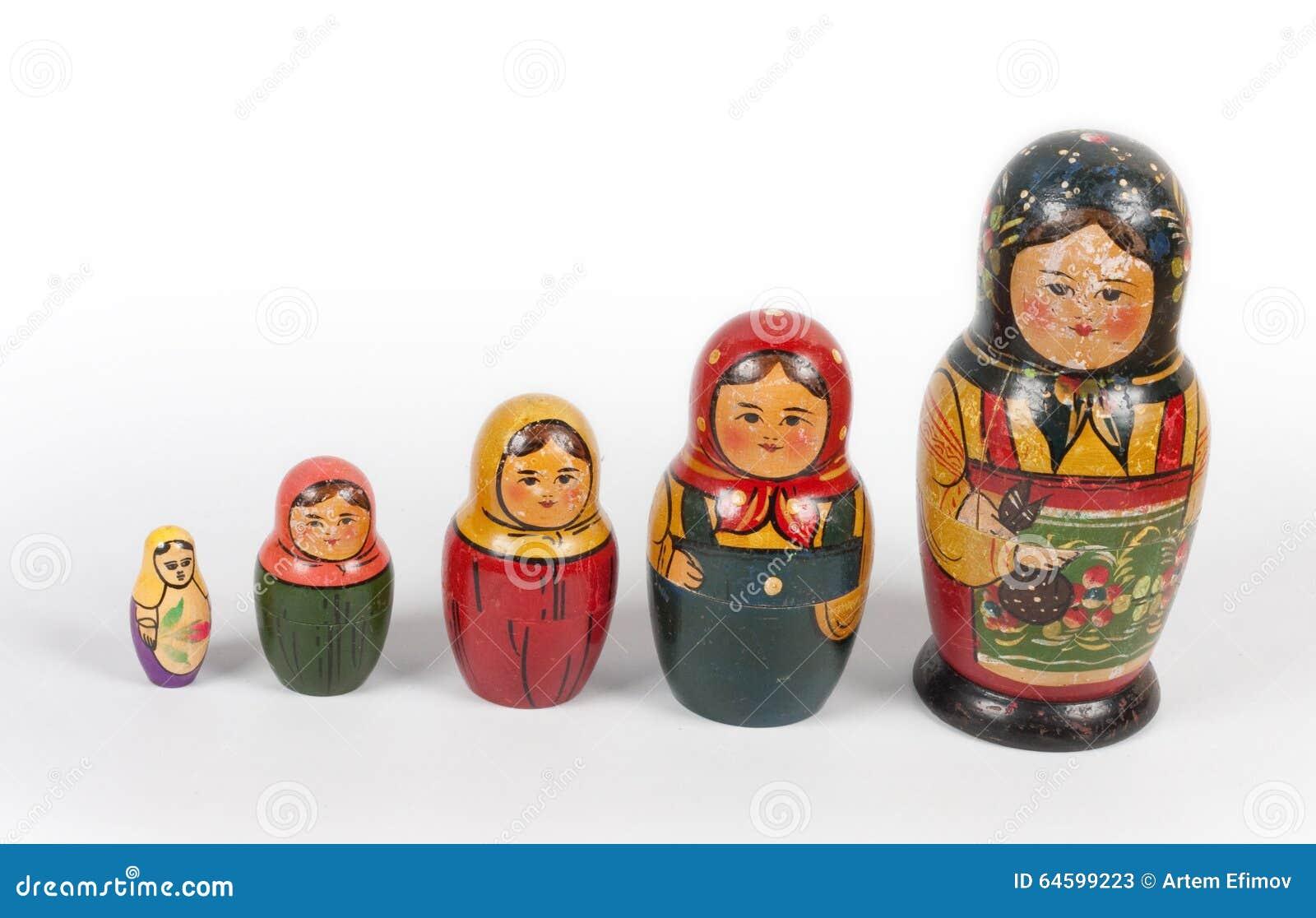 Matryoshkas de vintage