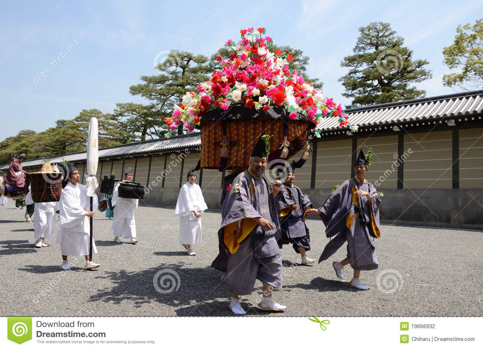Matsuri φεστιβάλ aoi hollyhock