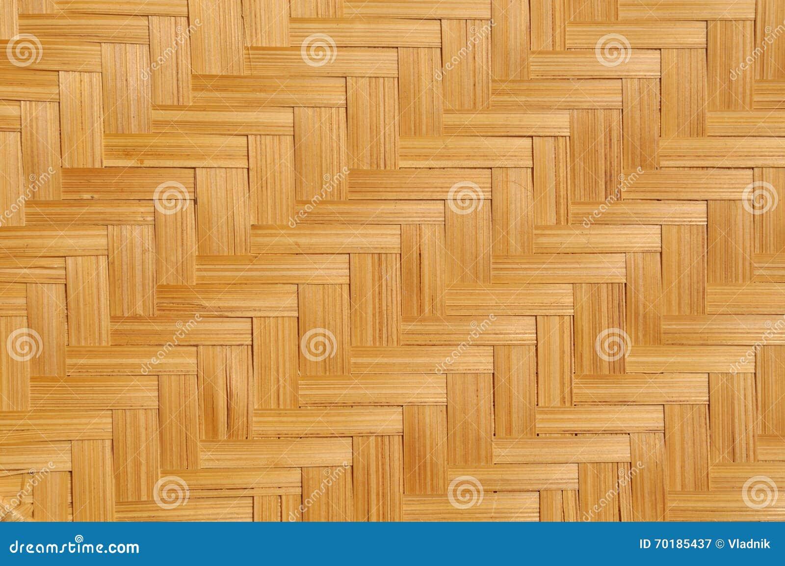 Matt vävd bambu