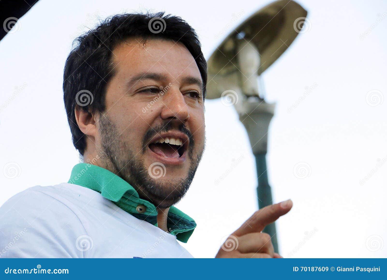 Matteo salvini, Italien