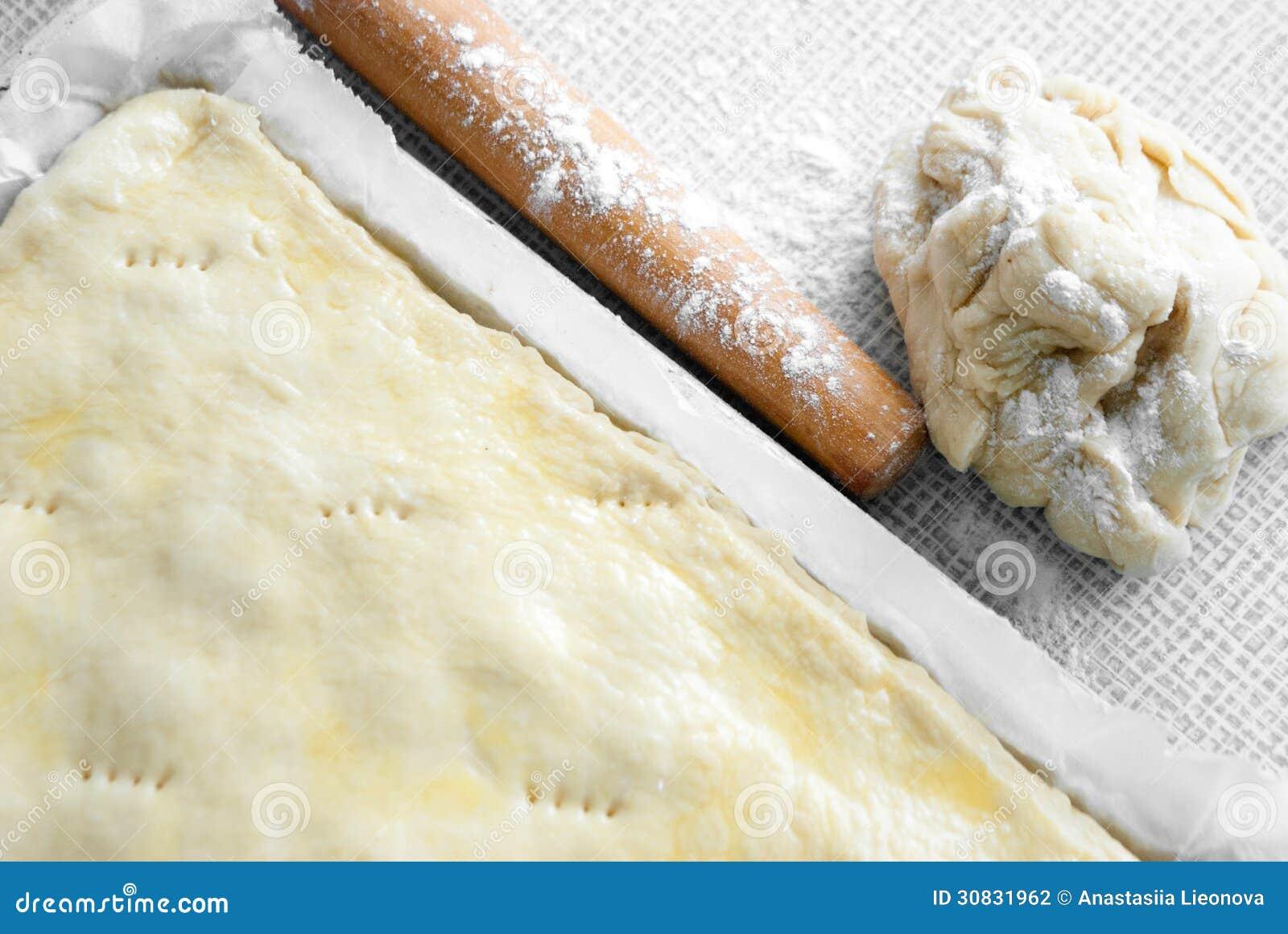 Matterello con pasta appena preparato
