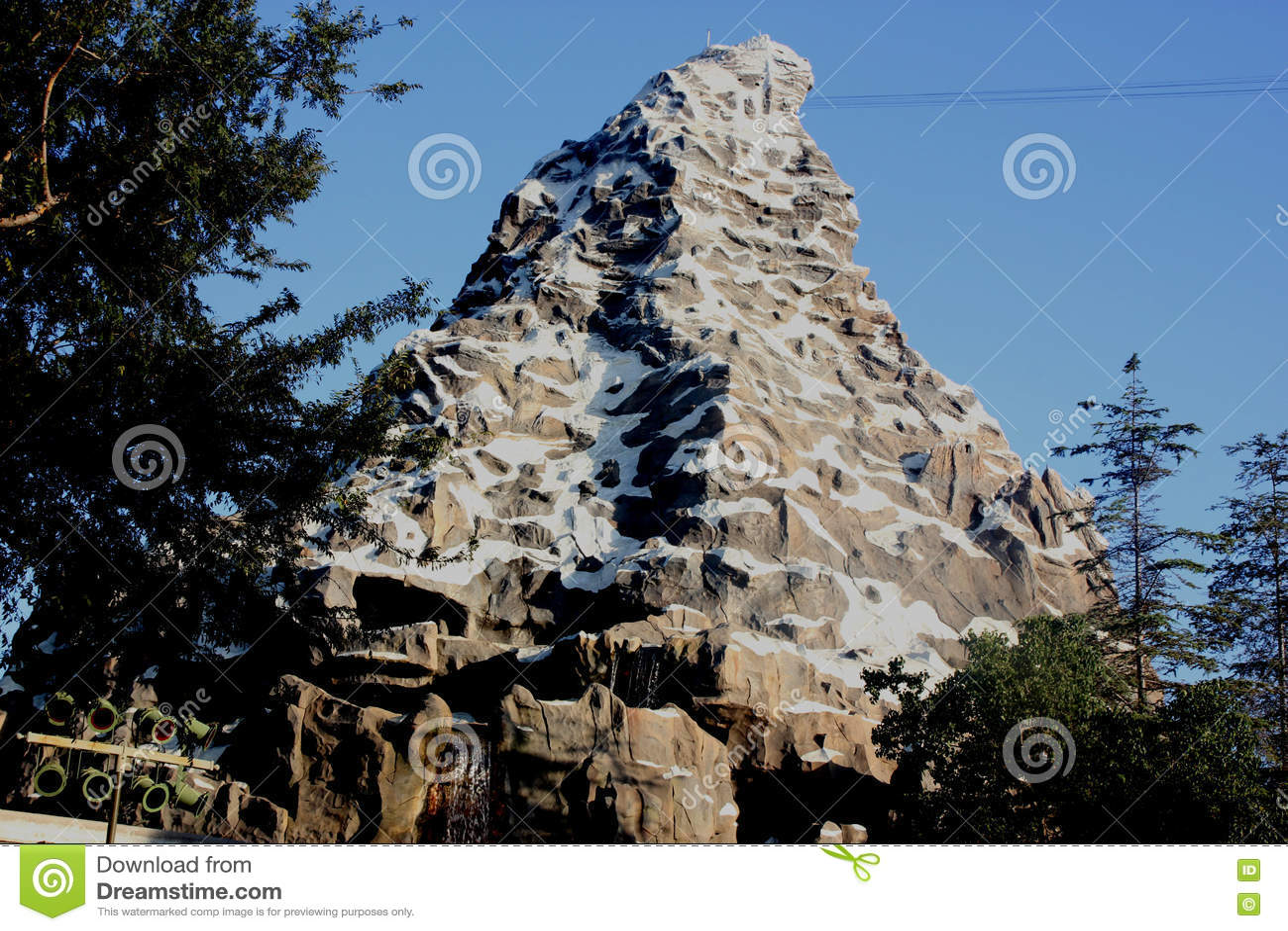 Matterhorn Bobsleds Disneyland Fantasyland Anaheim California