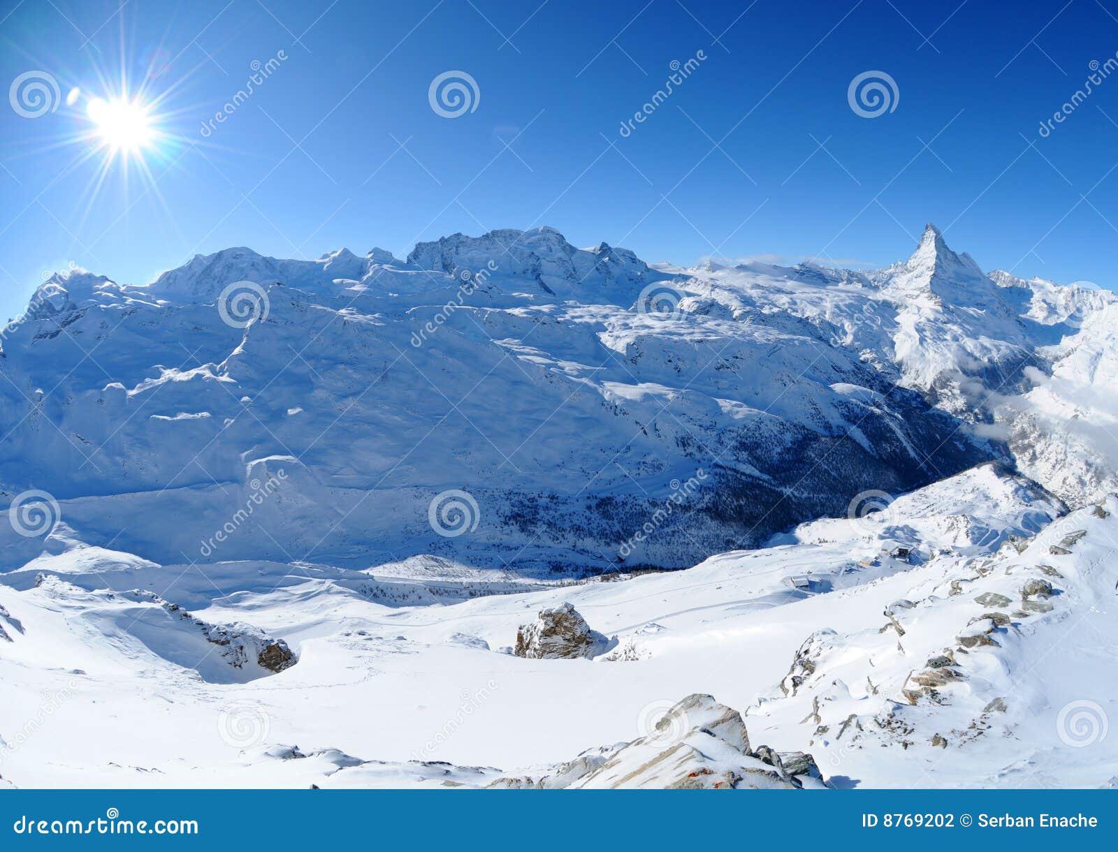 Matterhorn monte rosa