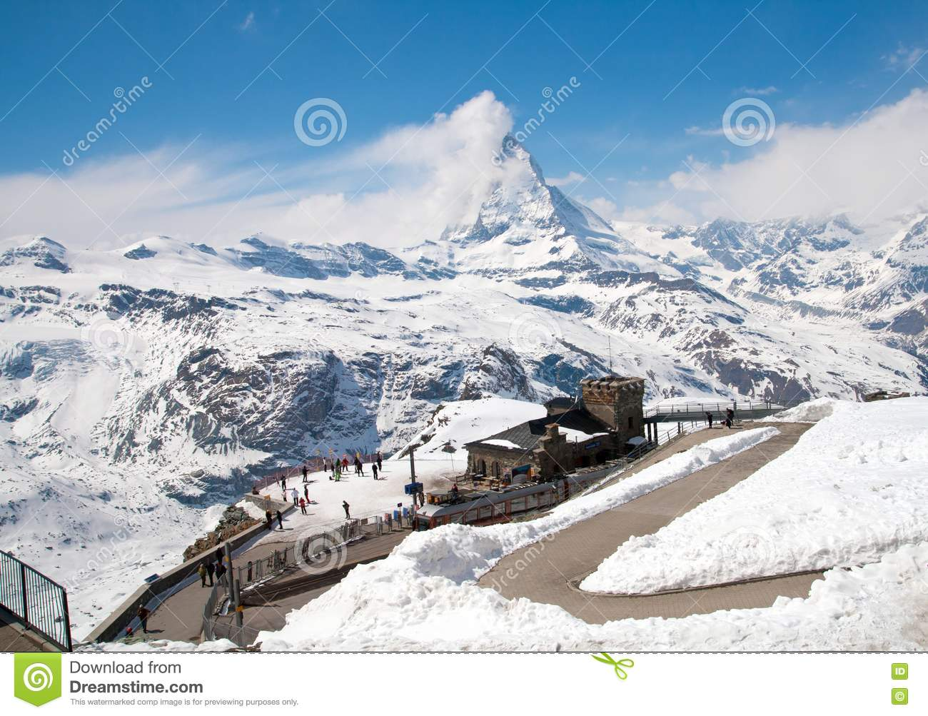 Alp Peak http://www.dreamstime.com/royalty-free-stock-photography-matterhorn-peak-alps-image18519207