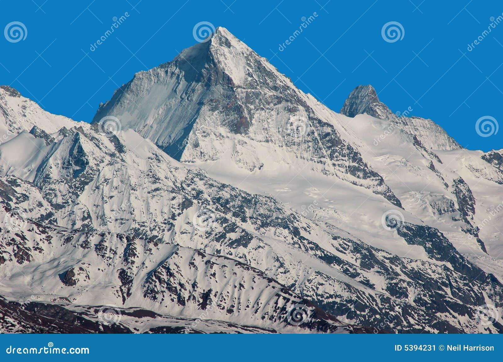 Matterhorn und Einbuchtung Blanche