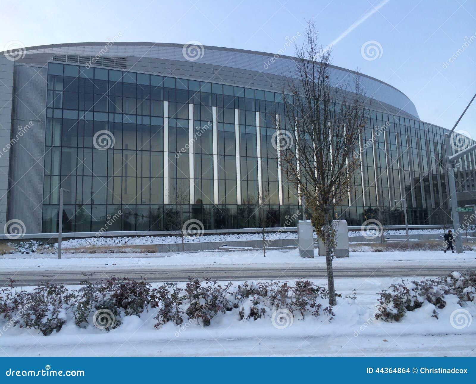 Matthew Knight Arena all università di Oregon in neve, Eugene, Oregon
