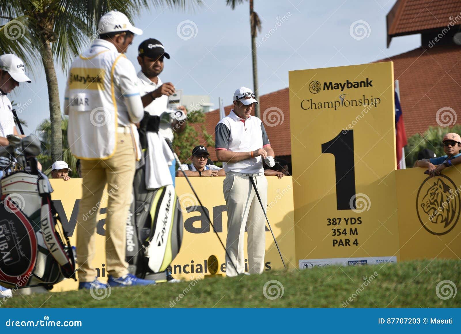 Matthew Southgate, championnat 2017 de Maybank