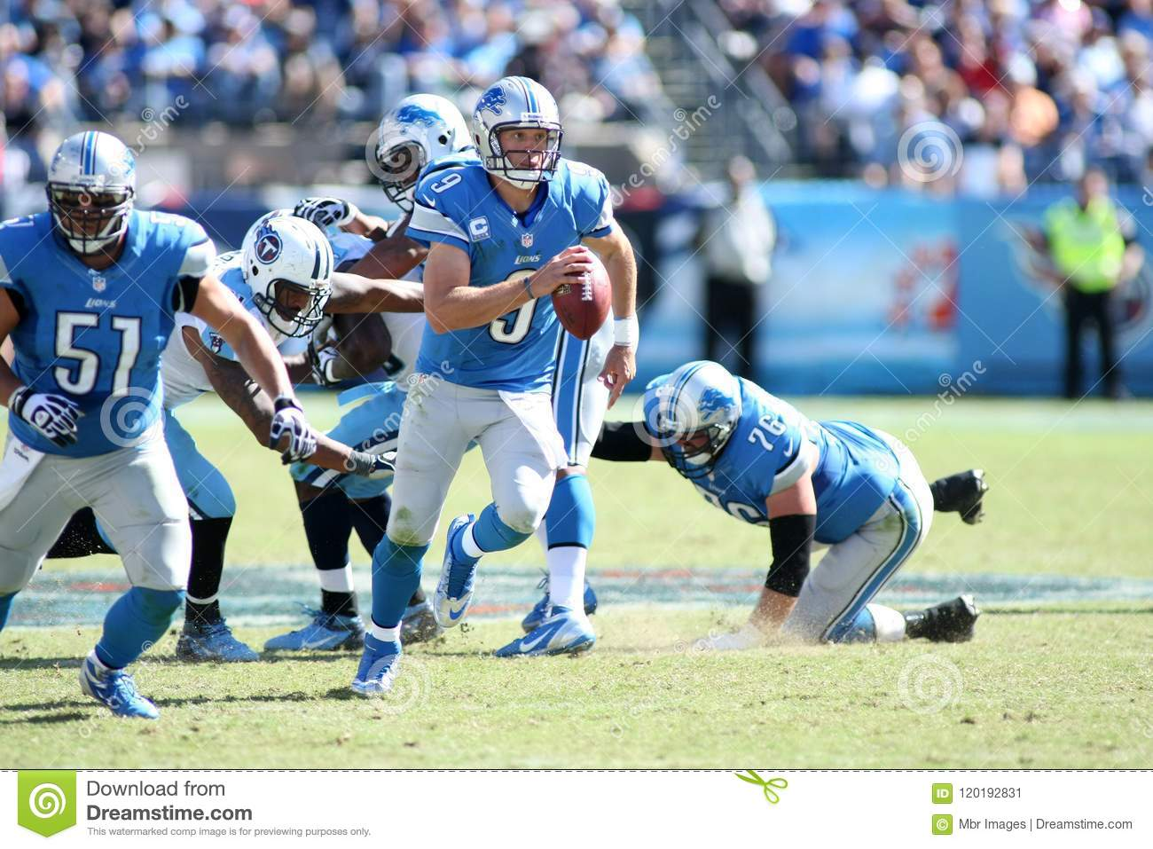 Matthew Stafford Detroit Lions Editorial Photo Image of strength