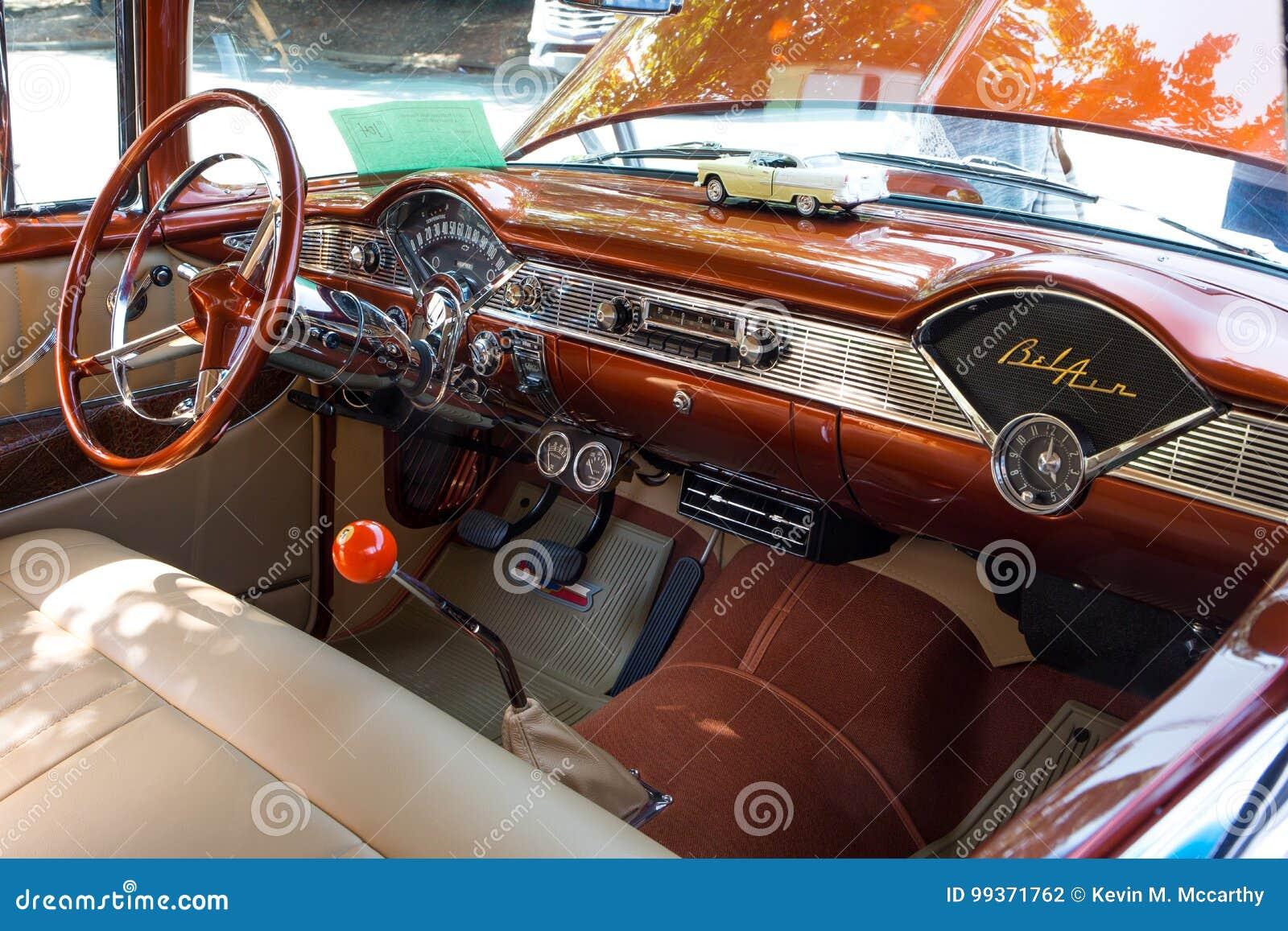 Phenomenal 1956 Chevy Bel Air Dashboard Editorial Photography Image Beutiful Home Inspiration Semekurdistantinfo
