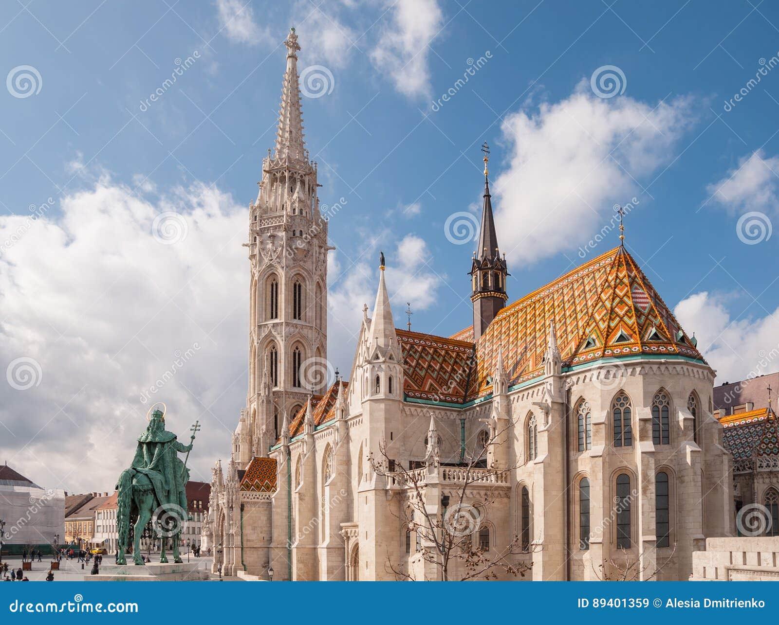Matthias Church é uma igreja católica romana situada em Budapest, Hungria