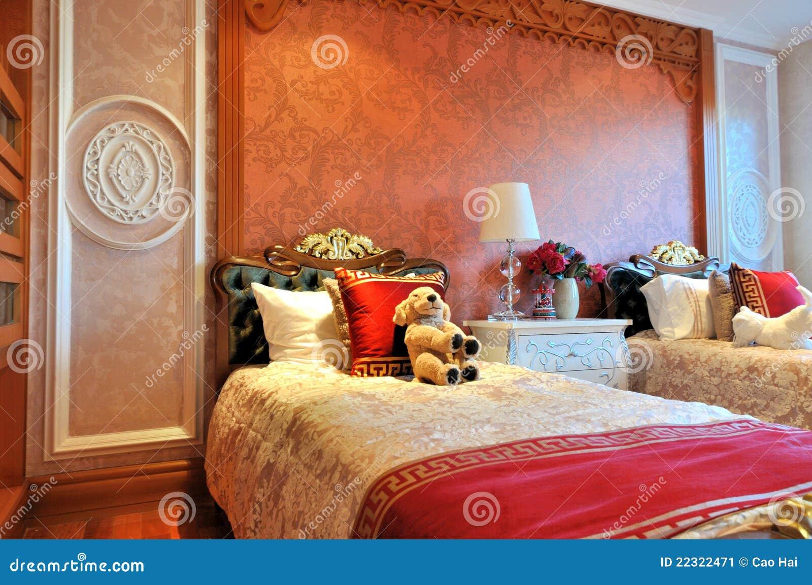 Mattina della camera da letto dei bambini accurati immagine stock immagine 22322471 - Camera letto bambini ...