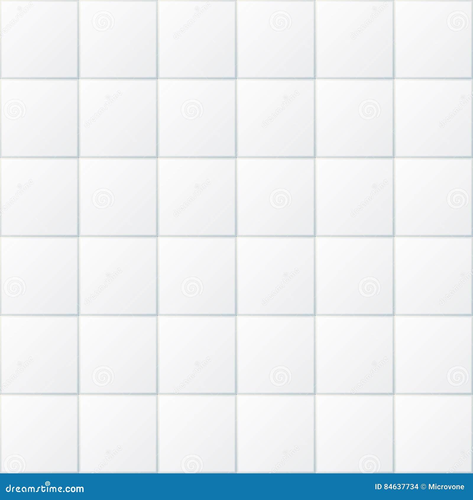 Mattonelle bianche del bagno fondo senza cuciture del for Pavimento della cucina del cottage