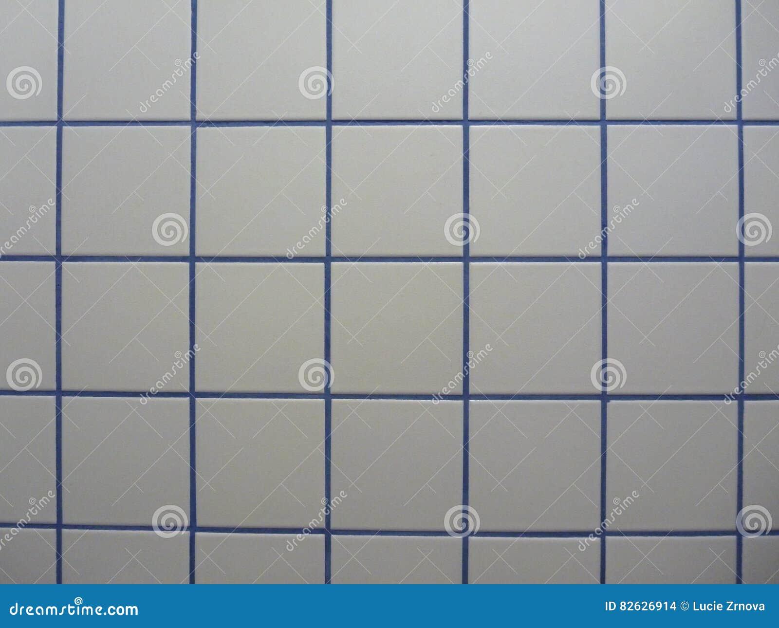 Mattonelle blu e bianche in bagno fotografia stock immagine di