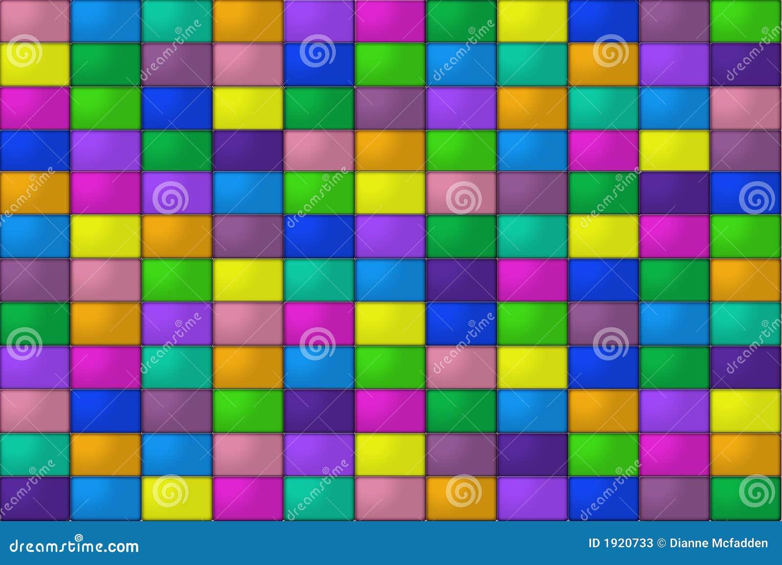 mattonelle colorate illustrazione di stock illustrazione On mattonelle colorate