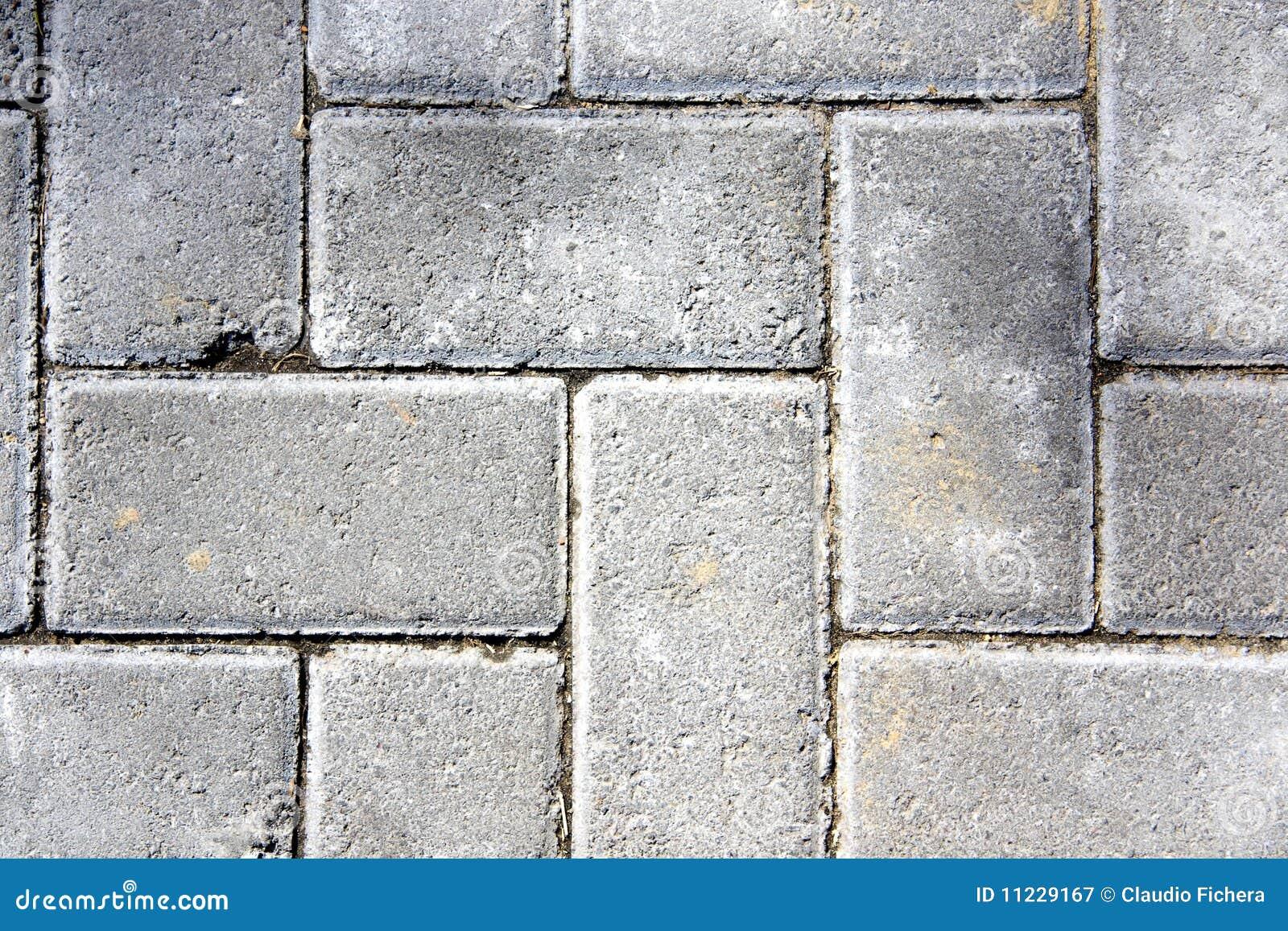 Mattonelle del cemento immagine stock immagine di sporco for Mattonelle da esterno in cemento