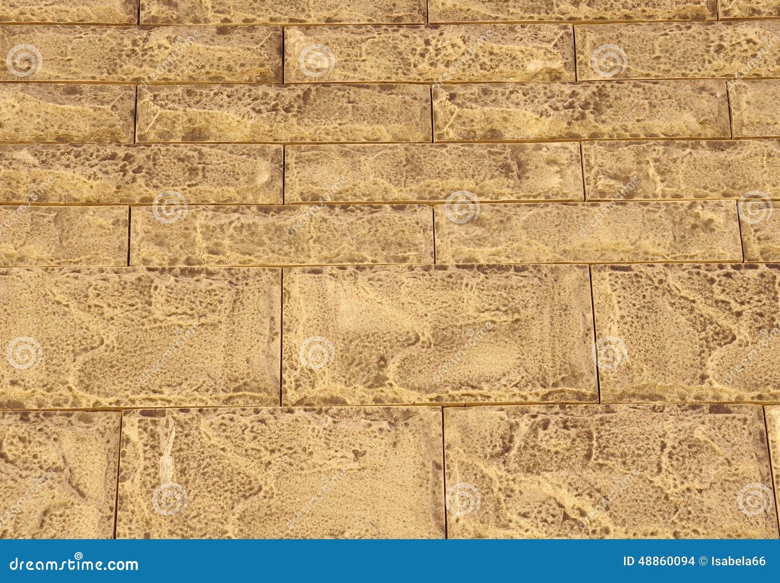 Mattonelle del rivestimento di brown che imitano le pietre for Mattonelle da rivestimento
