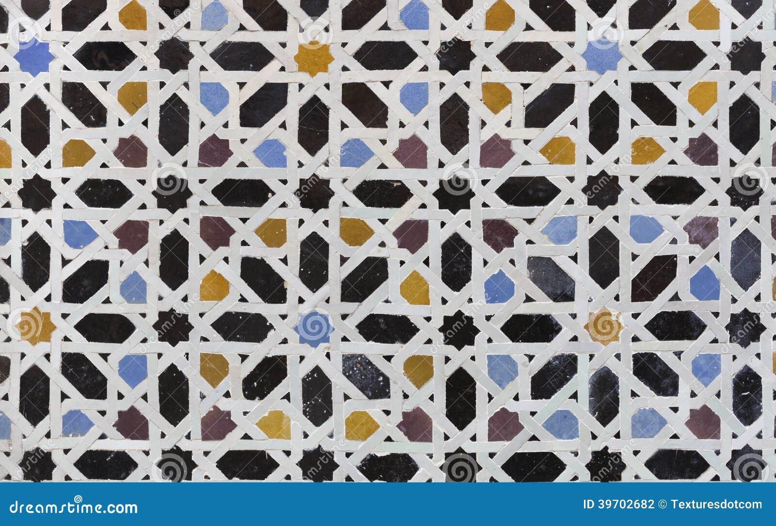 Mattonelle di zellige dal marocco fotografia stock immagine di