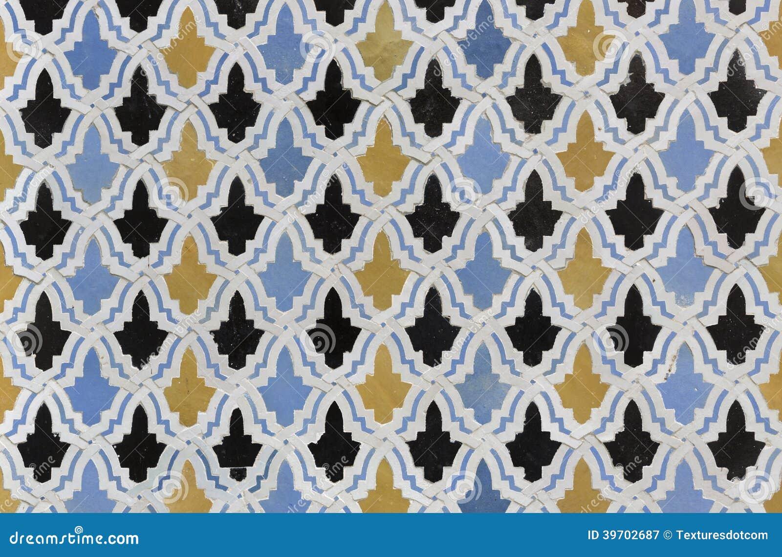 Mattonelle di zellige dal marocco immagine stock immagine di