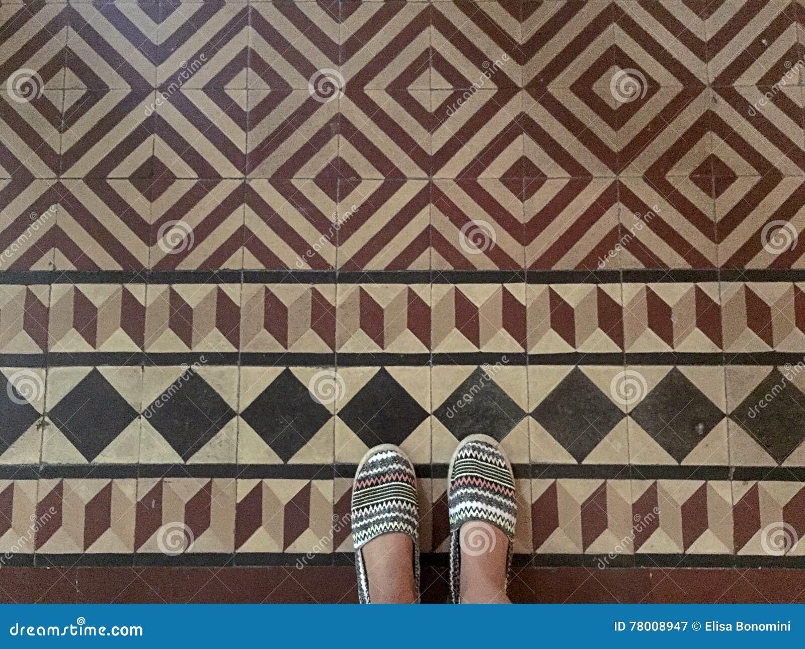 Mattonelle geometriche immagine stock immagine di foto