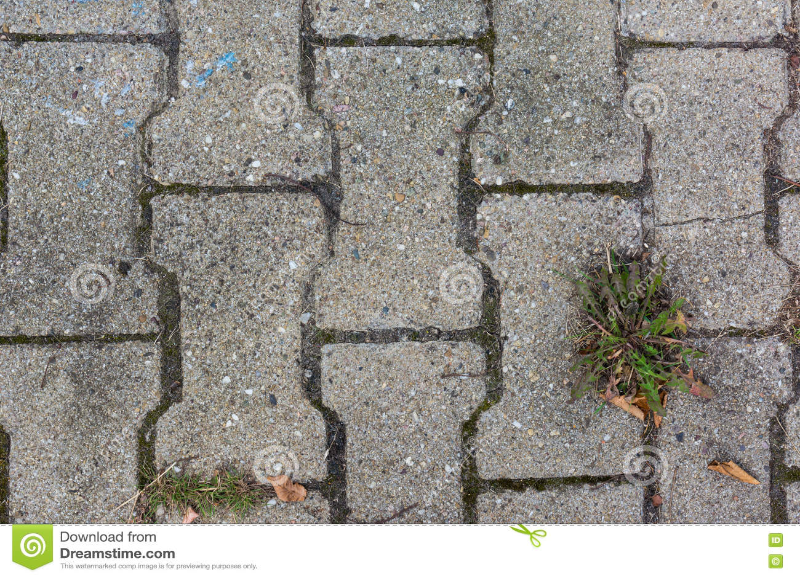 Piastrella da marciapiede cella u foto stock vt mail