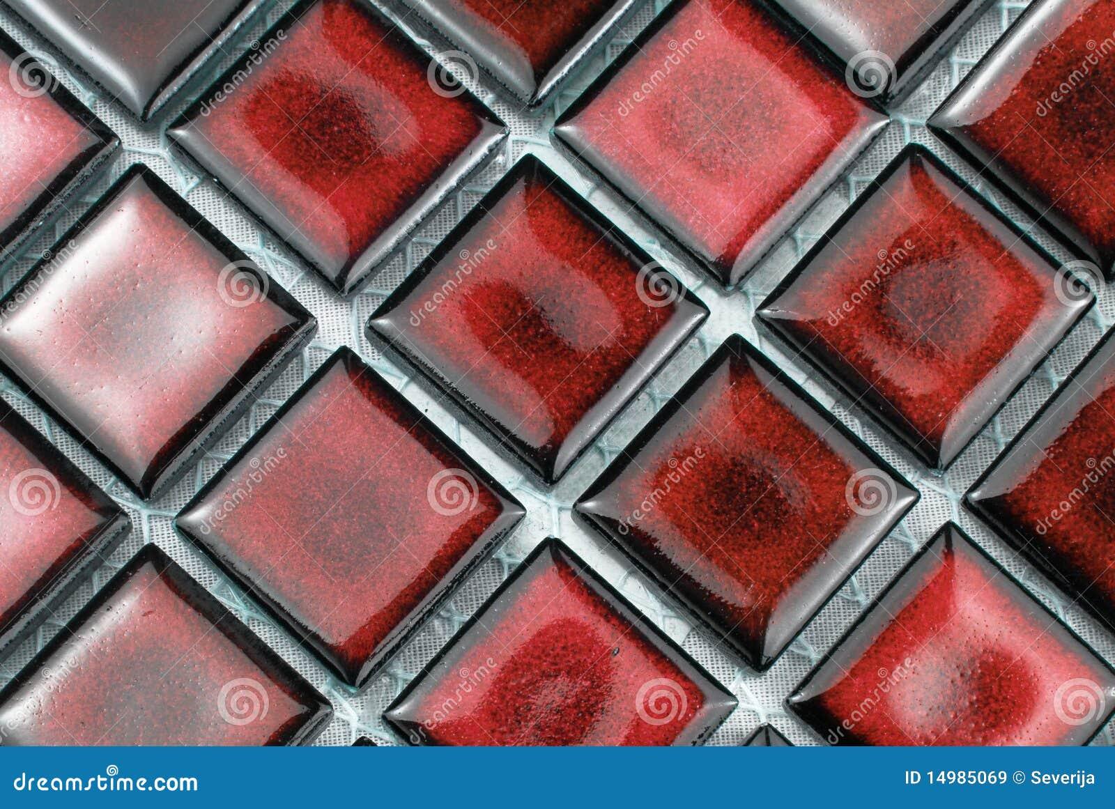 Mattonelle rosse immagine stock immagine di ceramic