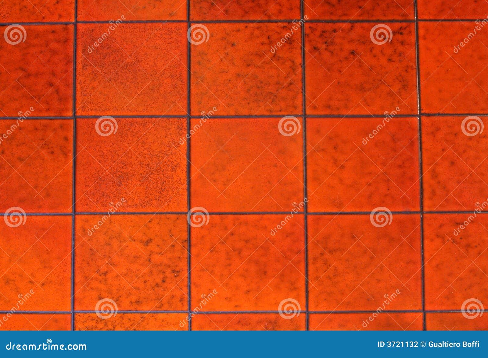 Mattonelle rosse fotografia stock immagine di mosaico