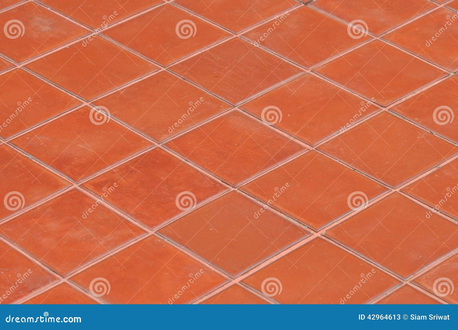 Mattonelle rosse quadrate immagine stock immagine di contesto