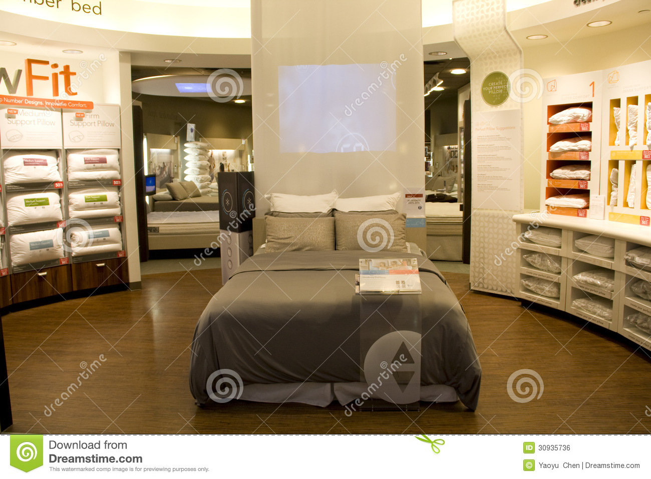 mattress store editorial photo image 30935736