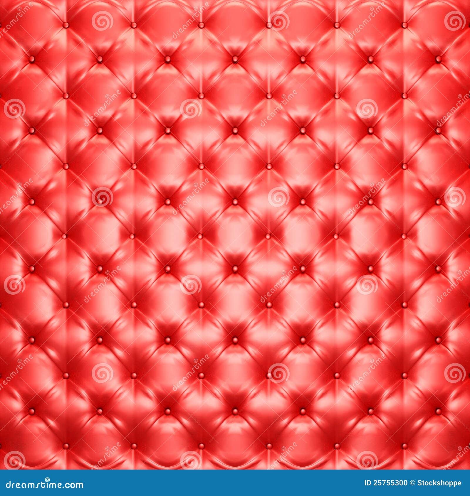 Red bed sheet texture - Mattress Texture