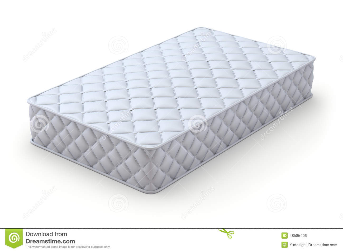 Mattress Stock Illustration Image