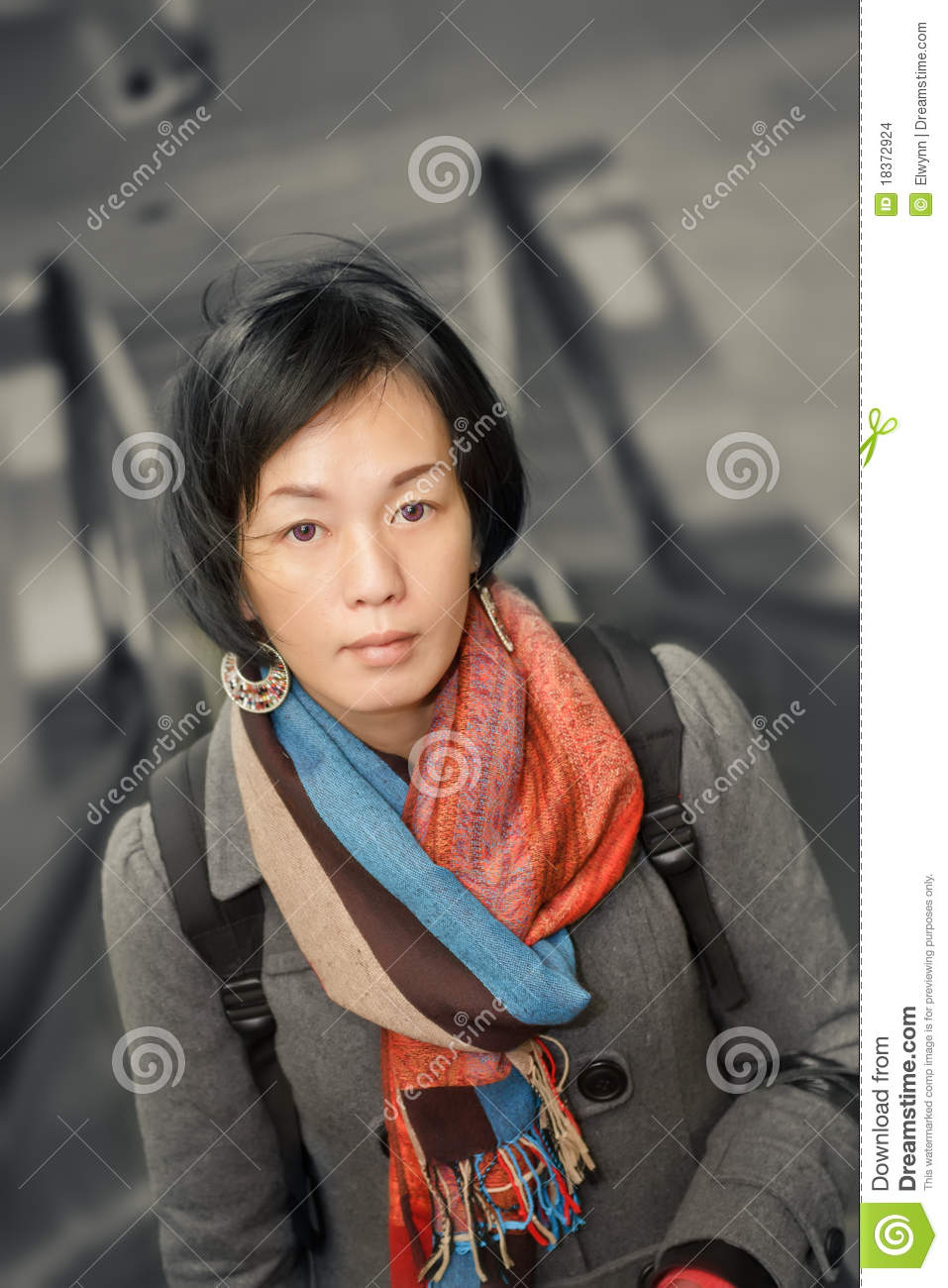 mature asian beauty stock photo. image of face, expressive - 18372924
