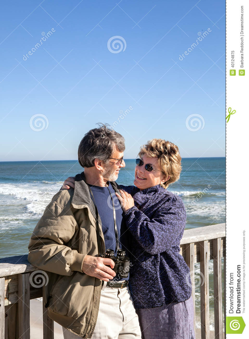 Mature couple in florida