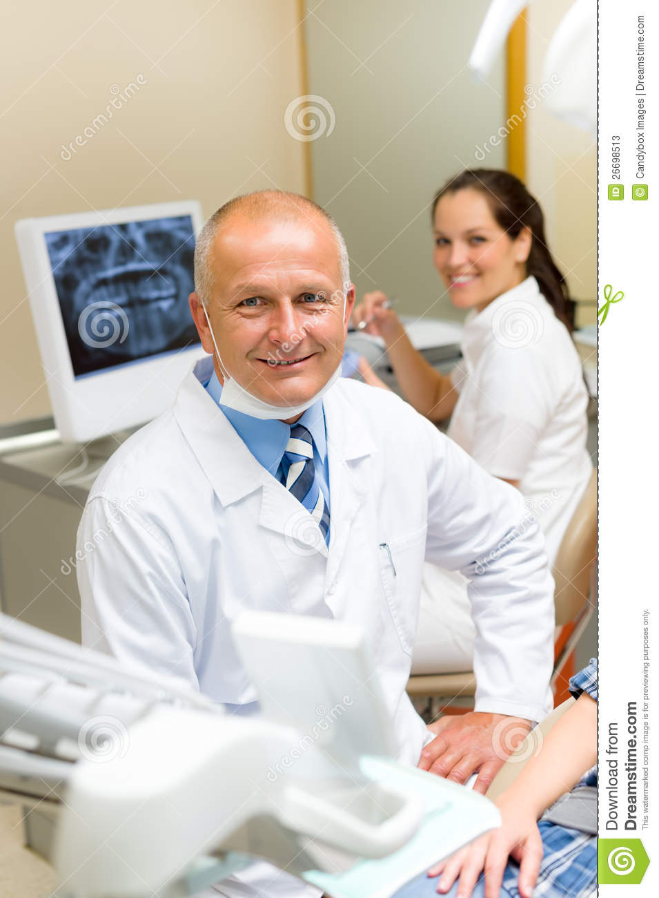 adult story mature dentist office