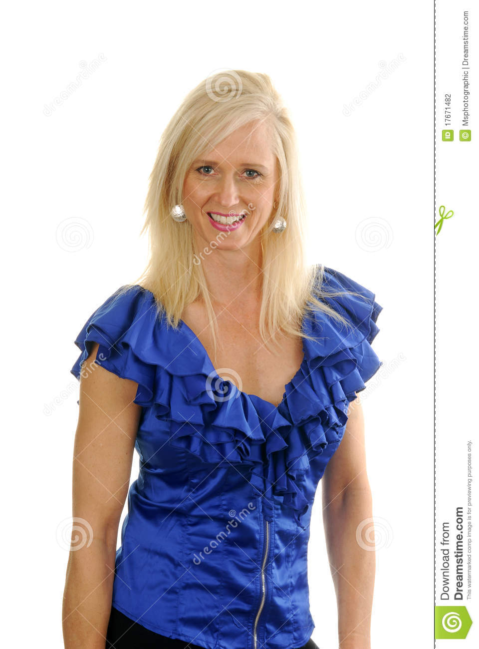 Mature Fashion Model Stock Photography Image 17671482