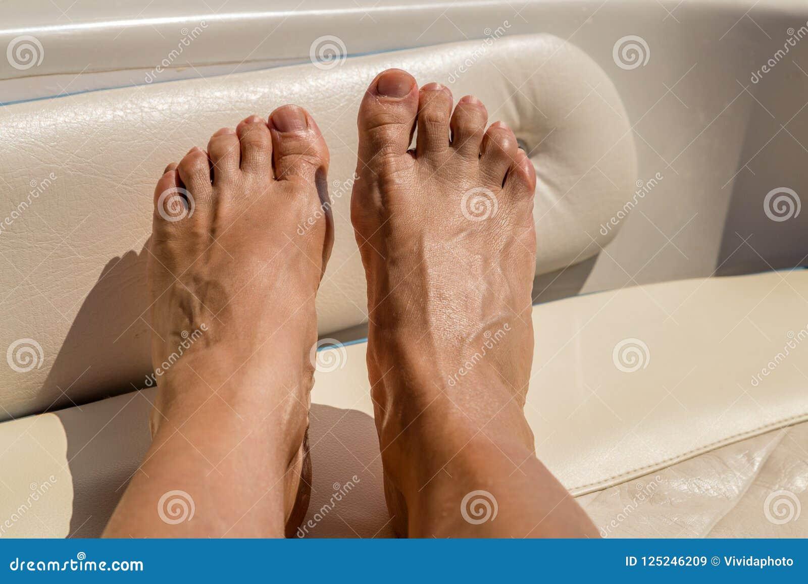 Mature Women Feet