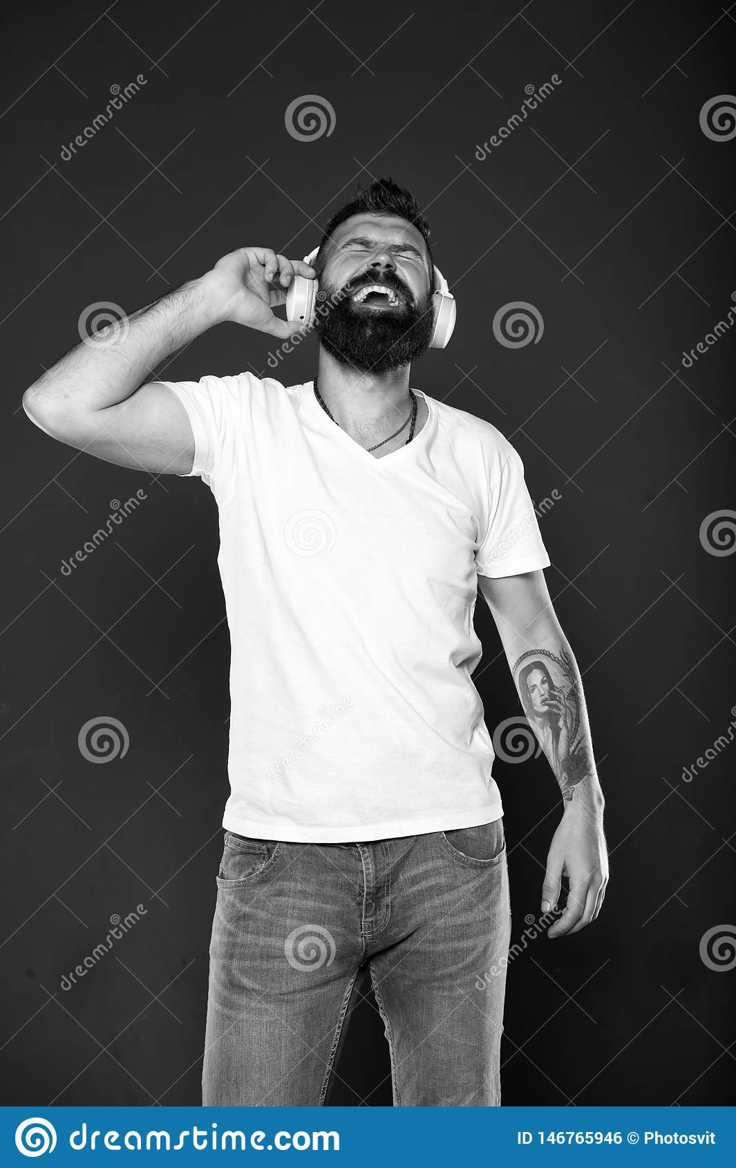Mature hipster with beard. Confident and handsome Brutal man. Male barber care. Bearded man. Hair and beard care. happy