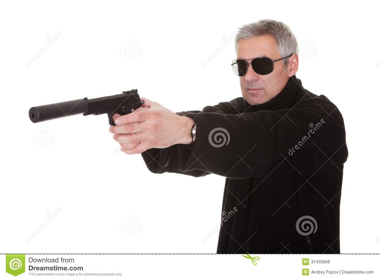 mature man aiming with handgun royalty free stock image police car clipart free police clip art free images gold