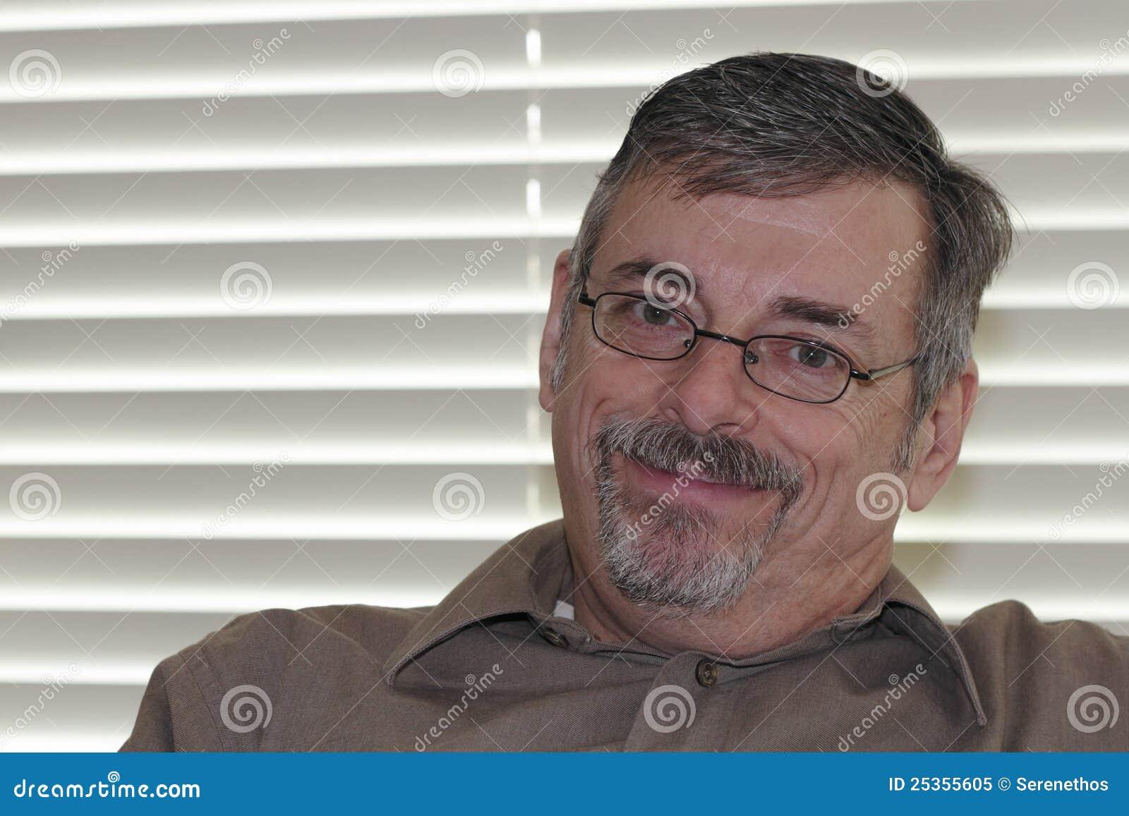 Mature Man Looking at Viewer