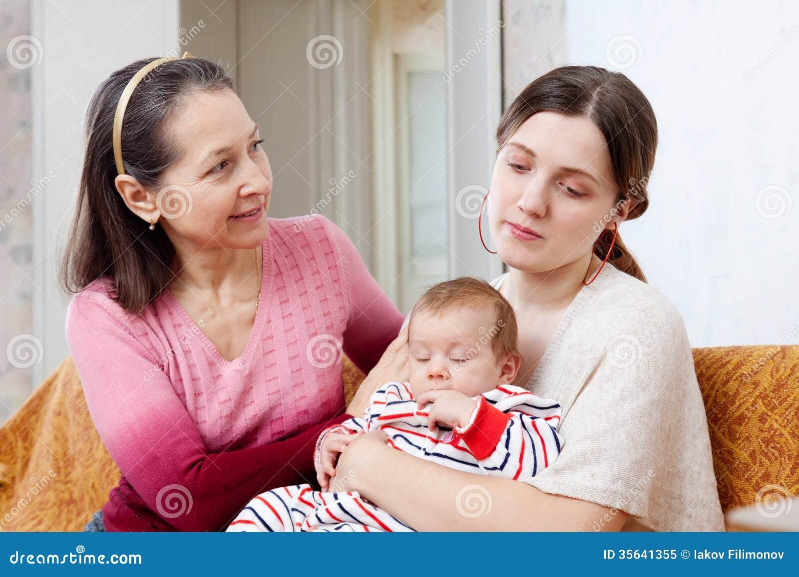 Mother Asks For Forgiveness From Daughter Stock Image  Cartoondealercom 35690719-7454