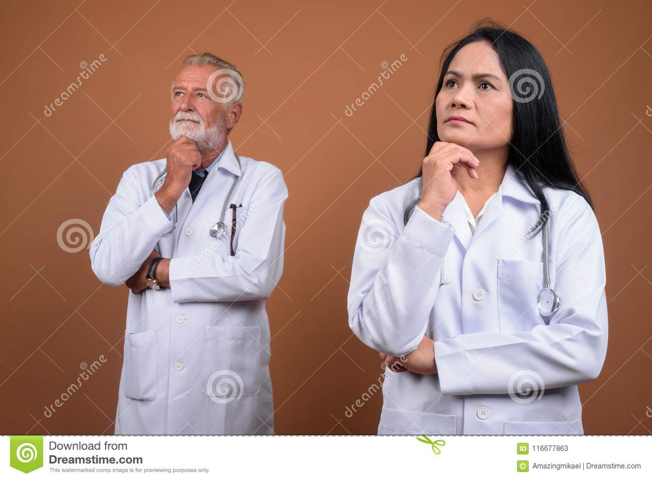 Mature couple still play doctor