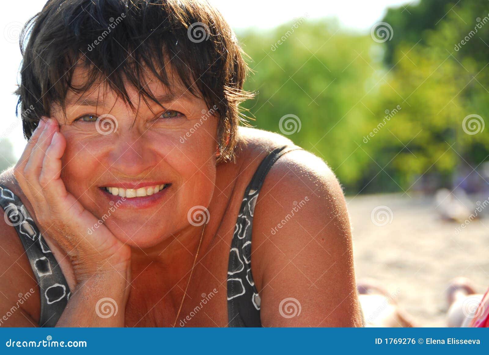 Spain beach voyeur